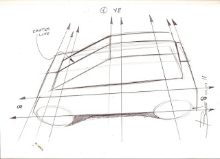 Simple Rules To Draw A Car Sketch In Top View Lucianobove Com