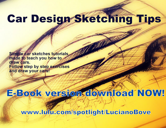Car Design Sketching Tips E Book Now Available For Download