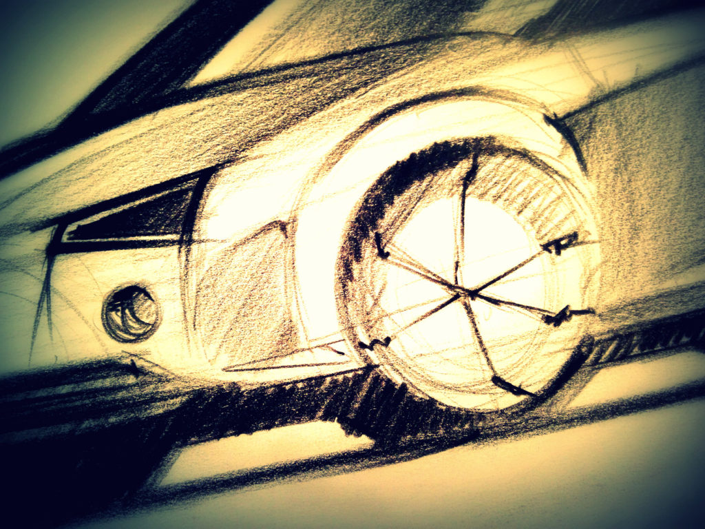 Car Sketch by Luciano Bove