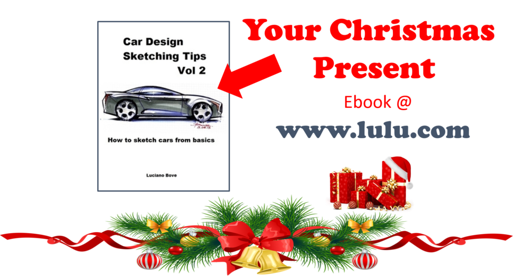 Car Sketching Tutorials 8211 Your Ebook For Christmas