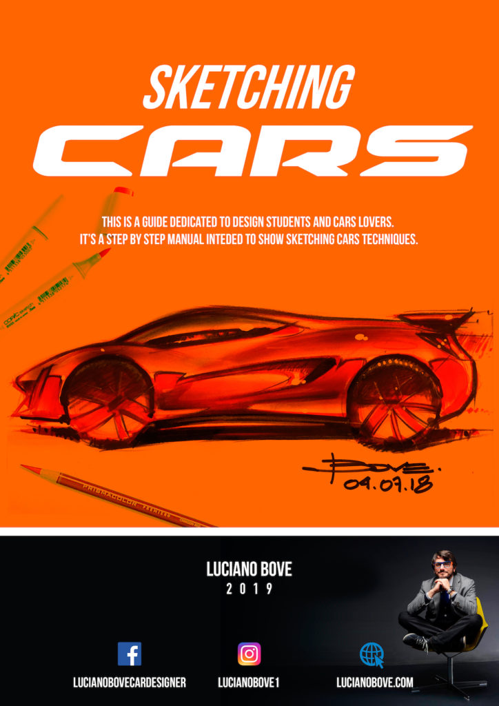 Sketching Cars New EBook By Luciano Bove