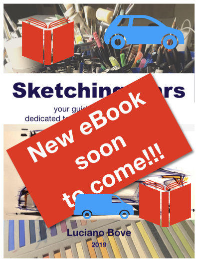 Sketching Cars New EBook Soon To Come By Luciano Bove